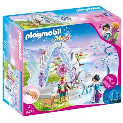 Playmobil Kristallport till Vintervärlden, 9471P