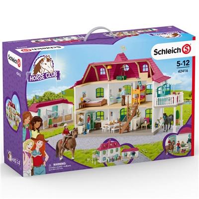 Schleich Horse Club Stor Hästgård med Hus och Stall, 42416
