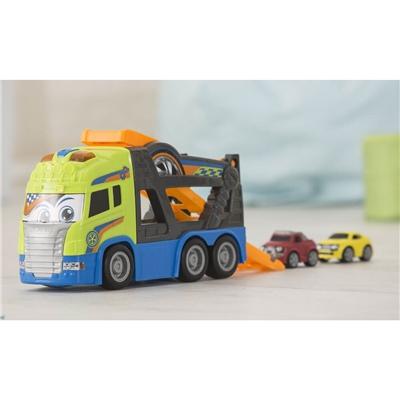Dickie Toys Happy Scania Biltransport med Bilar, 203817000