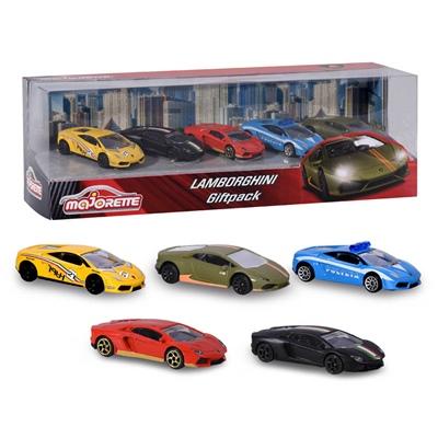 Majorette Lamborghini Giftpack 5-Pack, 212053162