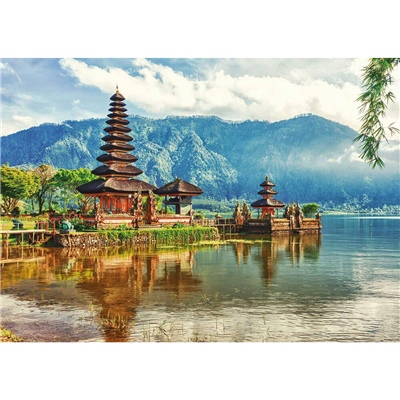 Educa Pussel 2000 Bitar Temple Ulun Danu - Bali Indonesia, 17674