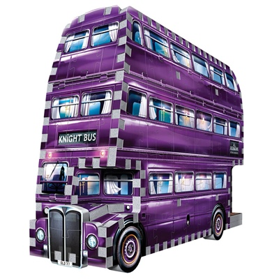 Wrebbit 3D Pussel 280 Bitar Harry Potter The Knight Bus, 0507