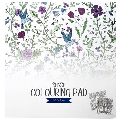 Sense Colouring Pad 30 Sidor, 10823