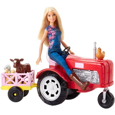 Barbie Farmer & Tractor Set, FRM18