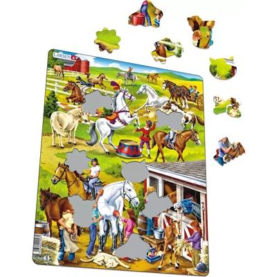 Larsen Pussel 50 Bitar Hästar, US26