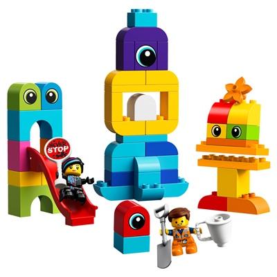 LEGO Duplo Emmet och Lucys Besökare från Duplo Planeten, 10895