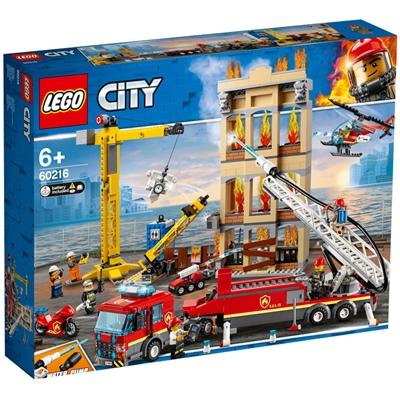 LEGO City Brandkåren i Centrum, 60216