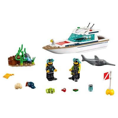 LEGO City Dykaryacht, 60221