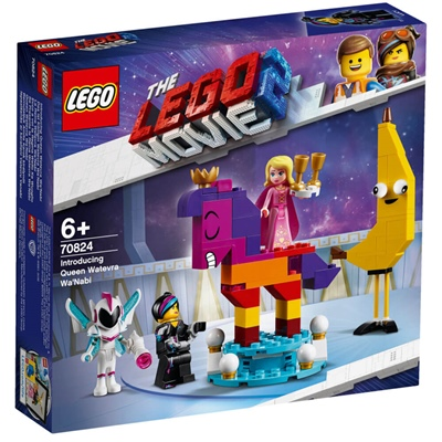 LEGO The Movie 2 Vi Presenterar Drottning Wembryrsi Wa'Nabi, 70824