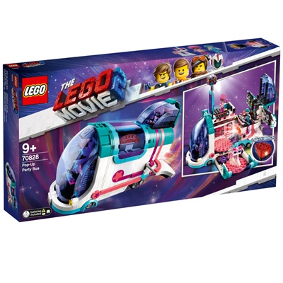 LEGO The Movie 2 Pop-up-Partybuss, 70828