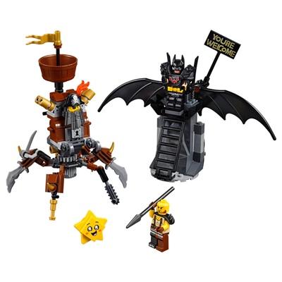 LEGO The Movie 2 Metallskägget och Batman Redo för Strid, 70836