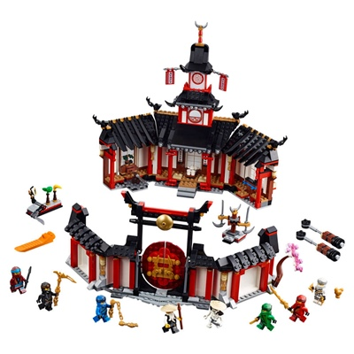 LEGO Ninjago Spinjitzutempel, 70670