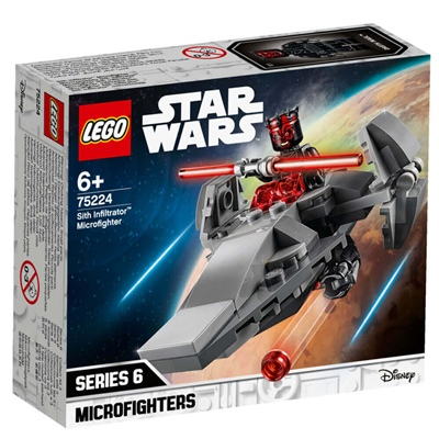 LEGO Star Wars Sith Infiltrator Microfighter, 75224