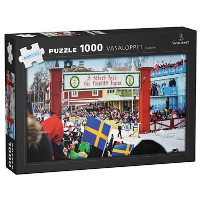 Kärnan Pussel 1000 Bitar Vasaloppet Sweden, 580043
