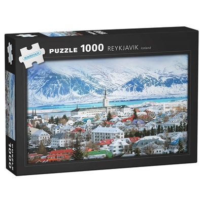Kärnan Pussel 1000 Bitar Reykjavik Iceland, 580046