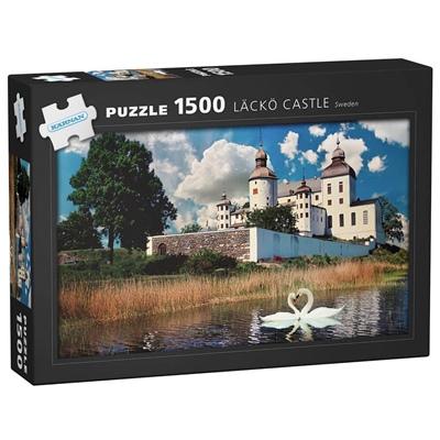 Kärnan Pussel 1500 Bitar Läckö Castle Sweden, 590017