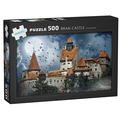 Kärnan Pussel 500 Bitar Bran Castle Transylvania, 570025