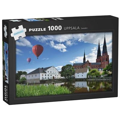 Kärnan Pussel 1000 Bitar Uppsala Sweden, 580045