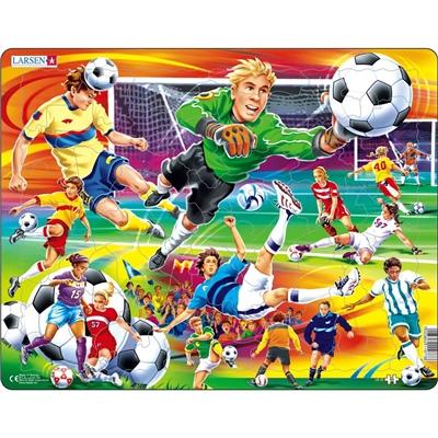 Larsen Pussel 65 Bitar Fotboll, US22