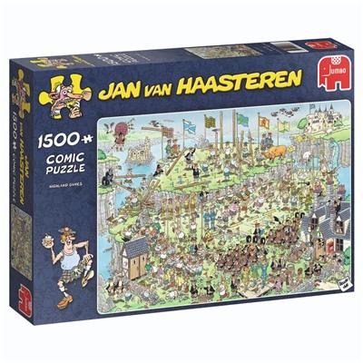 Jan van Haasteren Pussel 1500 Bitar Highland Games, 19088