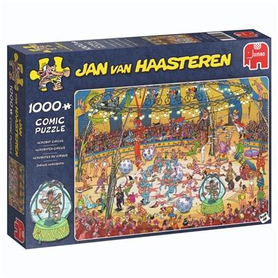Jan van Haasteren Pussel 1000 Bitar Acrobat Circus, 19089
