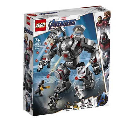 LEGO Marvel Super Heroes War Machine Buster, 76124