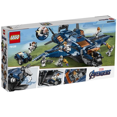 LEGO Marvel Super Heroes Avengers Ultimata Quinjet, 76126