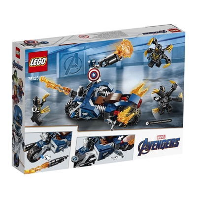 LEGO Marvel Super Heroes Captain America: Outriders Attack, 76123