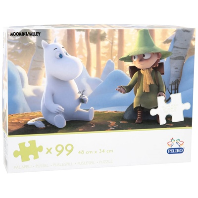 Peliko Pussel 99 Bitar Moominvalley, 40855191