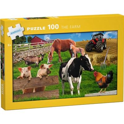 Kärnan Pussel 100 Bitar The Farm, 540007