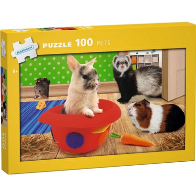 Kärnan Pussel 100 Bitar Pets, 540008