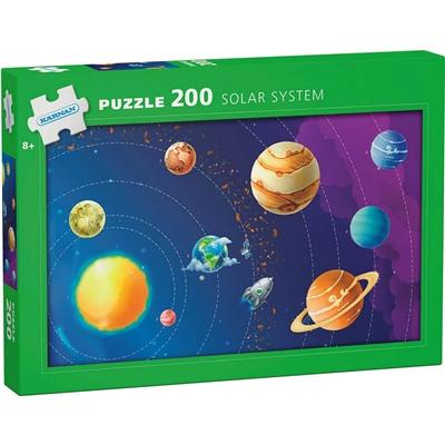 Kärnan Pussel 200 Bitar Solar System, 550003