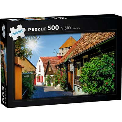 Kärnan Pussel 500 Bitar Visby Gotland, 570018