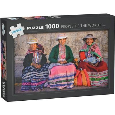 Kärnan Pussel 1000 Bitar People of The World Peru, 580014