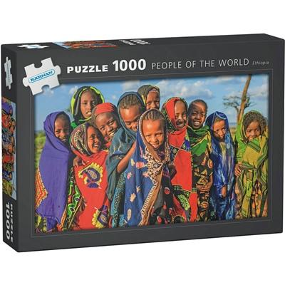 Kärnan Pussel 1000 Bitar People of The World Ethiopia, 580007