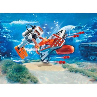 Playmobil SPY TEAM Undervattensskjutare, 70004P