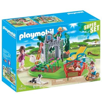 Playmobil SuperSet Familjeträdgård, 70010P