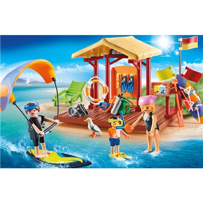 Playmobil Vattensportlektion, 70090