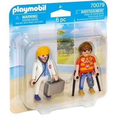 Playmobil Duopack Läkare och Patient, 70079
