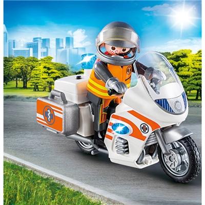 Playmobil Ambulansmotorcykel, 70051