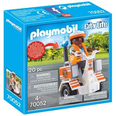 Playmobil Räddningssegway, 70052
