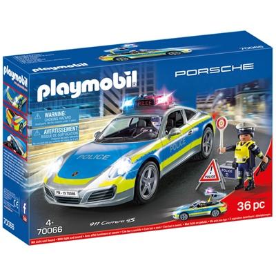 Playmobil Porsche 911 Carrera 4S Polis, 70066