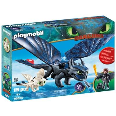 Playmobil DRAGONS Tandlöse och Hicke med Drakunge, 70037P