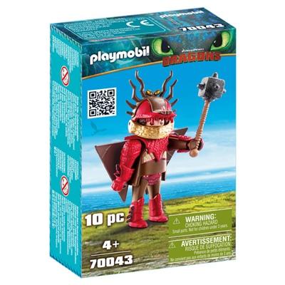 Playmobil DRAGONS Snor-Per i Flygdräkt, 70043