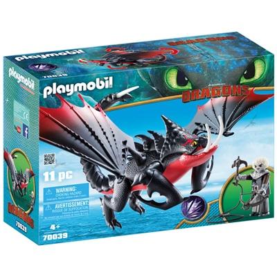 Playmobil DRAGONS Dödsbringaren med Grimmel, 70039