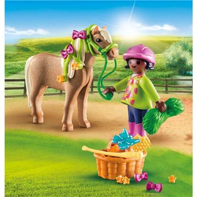 Playmobil Flicka med Ponny, 70060