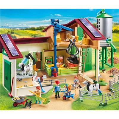 Playmobil Bondgård med Djur, 70132P