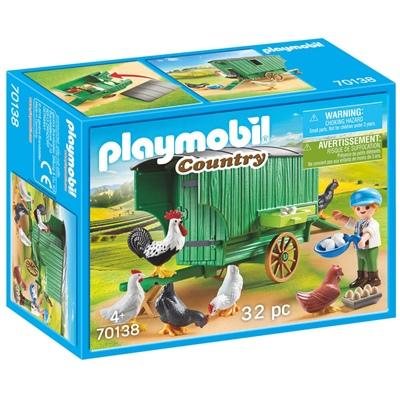 Playmobil Hönshus, 70138P