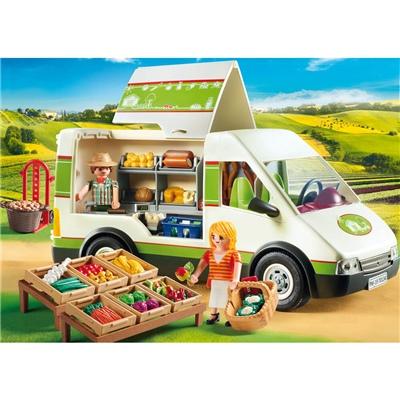 Playmobil Mobilt Marknadsstånd, 70134P