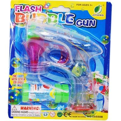 Flash Såpbubbelpistol med Ljuseffekter, 08888B